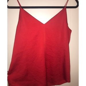 Express women's red camisole top, size XS